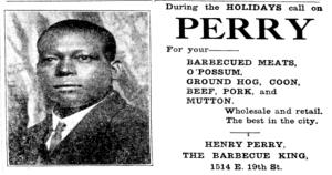 Henry-Perry-Ad-The Kansas City sun Kansas City MoDecember 22 1917